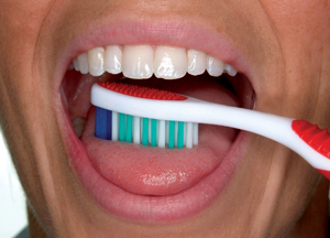 6) Brush your tongue to remove bacteria and freshen your breath.